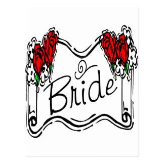 Bride T-Shirts & Gifts Postcard
