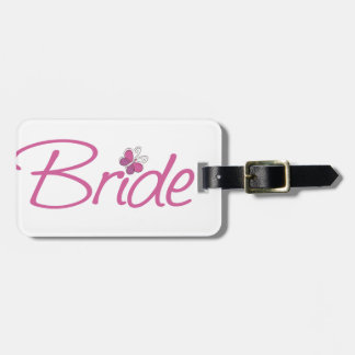 Bride Tag For Bags