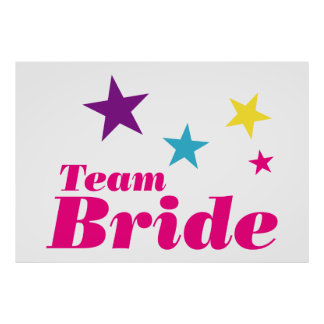Bride team poster