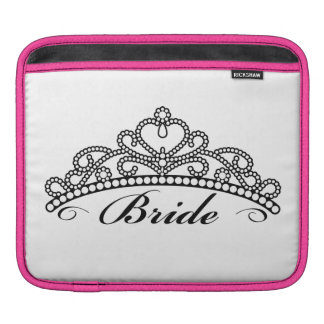 Bride Tiara iPad Sleeve