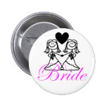 Bride to be badge button