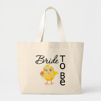 Bride To Be Jumbo Tote Bag