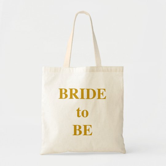 """""""Bride to Be"""" Bag. Tote Bag"""