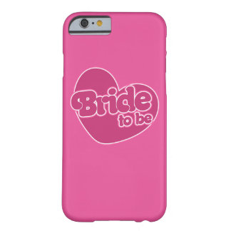 Bride to be barely there iPhone 6 case