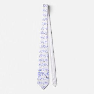 Bride To Be (Blue Script) Tie