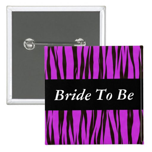Bride To Be Pins
