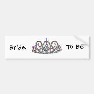 Bride to Be Car Bumper Sticker