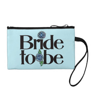 Bride to be change purse