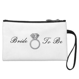 Bride To Be clutch