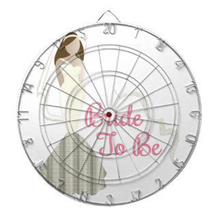 Bride To Be Dartboard With Darts