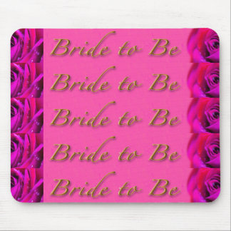 Bride-to-Be Design by Shawn Tomlinson Mouse Pad