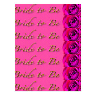 Bride-to-Be Design by Shawn Tomlinson Postcard