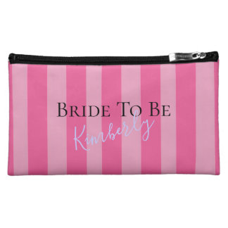 Bride To Be Fabulous Party Cosmetic Bag