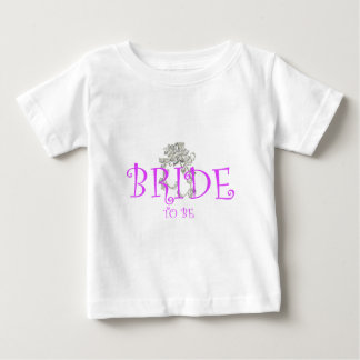bride to be flwr baby T-Shirt