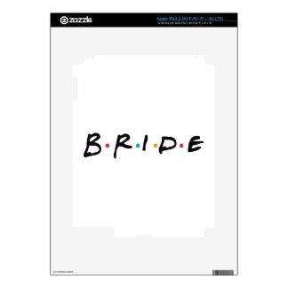 Bride to be iPad 3 decals