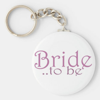 Bride to be keychain