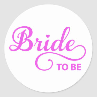 Bride to be pink word art text design for t-shirt stickers