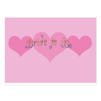 Bride To Be Post Card