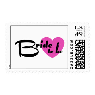 Bride to be postage