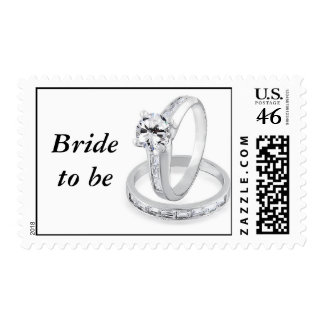 Bride To Be Postage Stamp