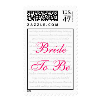 Bride To Be - Postage Stamp