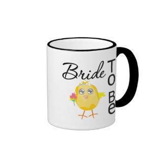 Bride To Be Ringer Coffee Mug