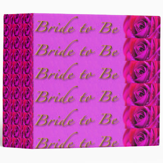 Bride-to-Be Shower Keepsake Binder