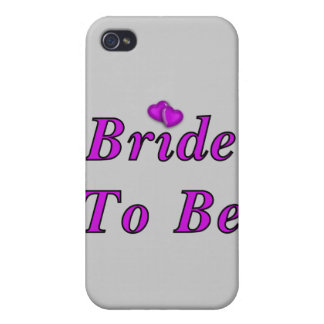 Bride To Be Simply Love iPhone 4/4S Case