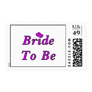 Bride To Be Simply Love Postage