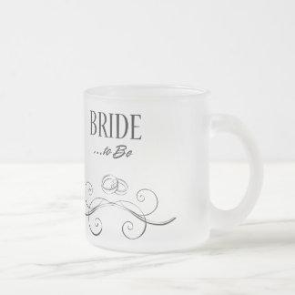 Bride to Be Swirls Design Mug