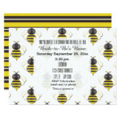 Bride to Bee Bridal Shower Invitations