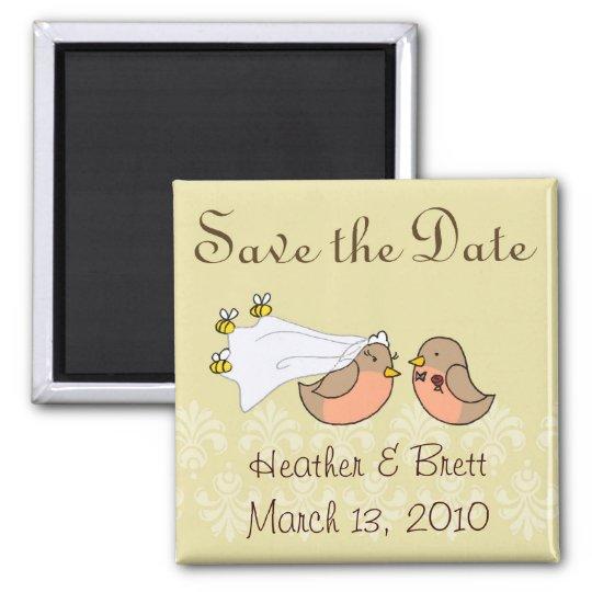Bride to Bee Magnet