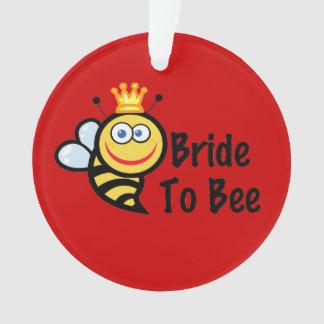 Bride To Bee Ornament