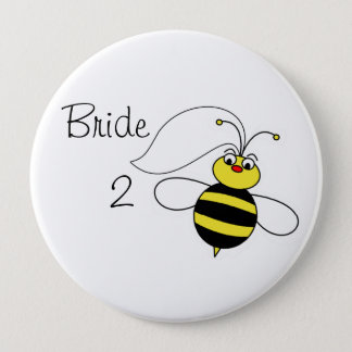 Bride to Bee Pinback Button