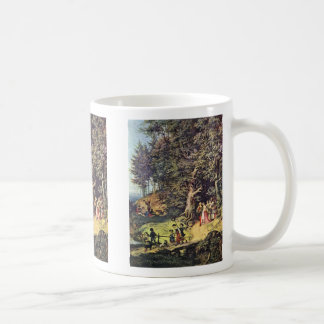 Bride Train In Spring By Richter Ludwig Mugs