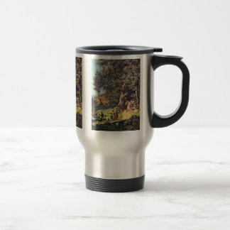 Bride Train In Spring By Richter Ludwig Coffee Mugs