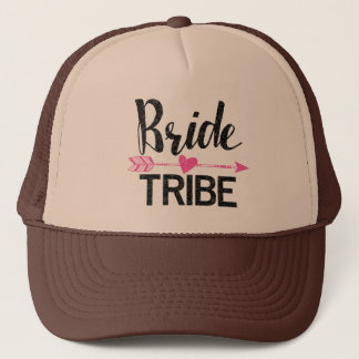 Bride Tribe|Black and Pink Trucker Hat