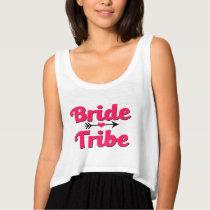 Bride Tribe Bridesmaid crop top