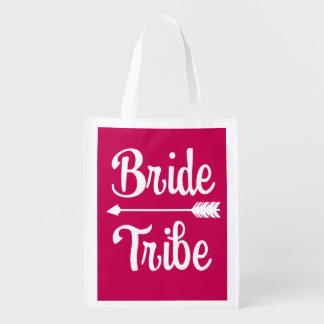 Bride Tribe Bridesmaid women's bag Pink