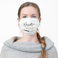 Bride Tribe Face Mask