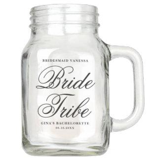Bride Tribe Mason Jar