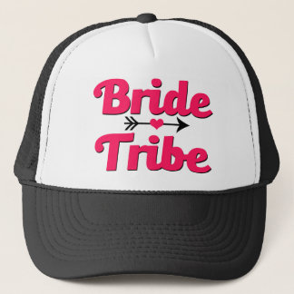 Bride Tribe Pink and Black women's hat