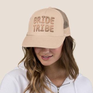 Bride Tribe Rose Gold Bachelorette Bridal Party Trucker Hat