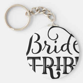 Bride Tribe Wedding Party Keychain