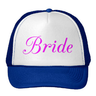 Bride Trucker Hat
