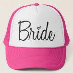 "Bride Trucker Hat<br><div class=""desc"">Pefect for Bachelorette Parties!   Great gift for the fun Bride!</div>"