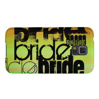 Bride; Vibrant Green, Orange, & Yellow Galaxy S5 Cover