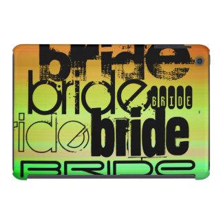 Bride; Vibrant Green, Orange, & Yellow iPad Mini Covers