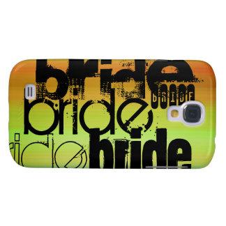Bride; Vibrant Green, Orange, & Yellow Samsung Galaxy S4 Case