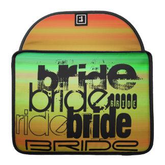 Bride; Vibrant Green, Orange, & Yellow Sleeves For MacBook Pro